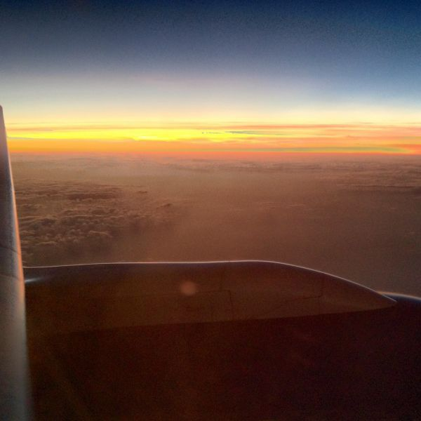 High over africa