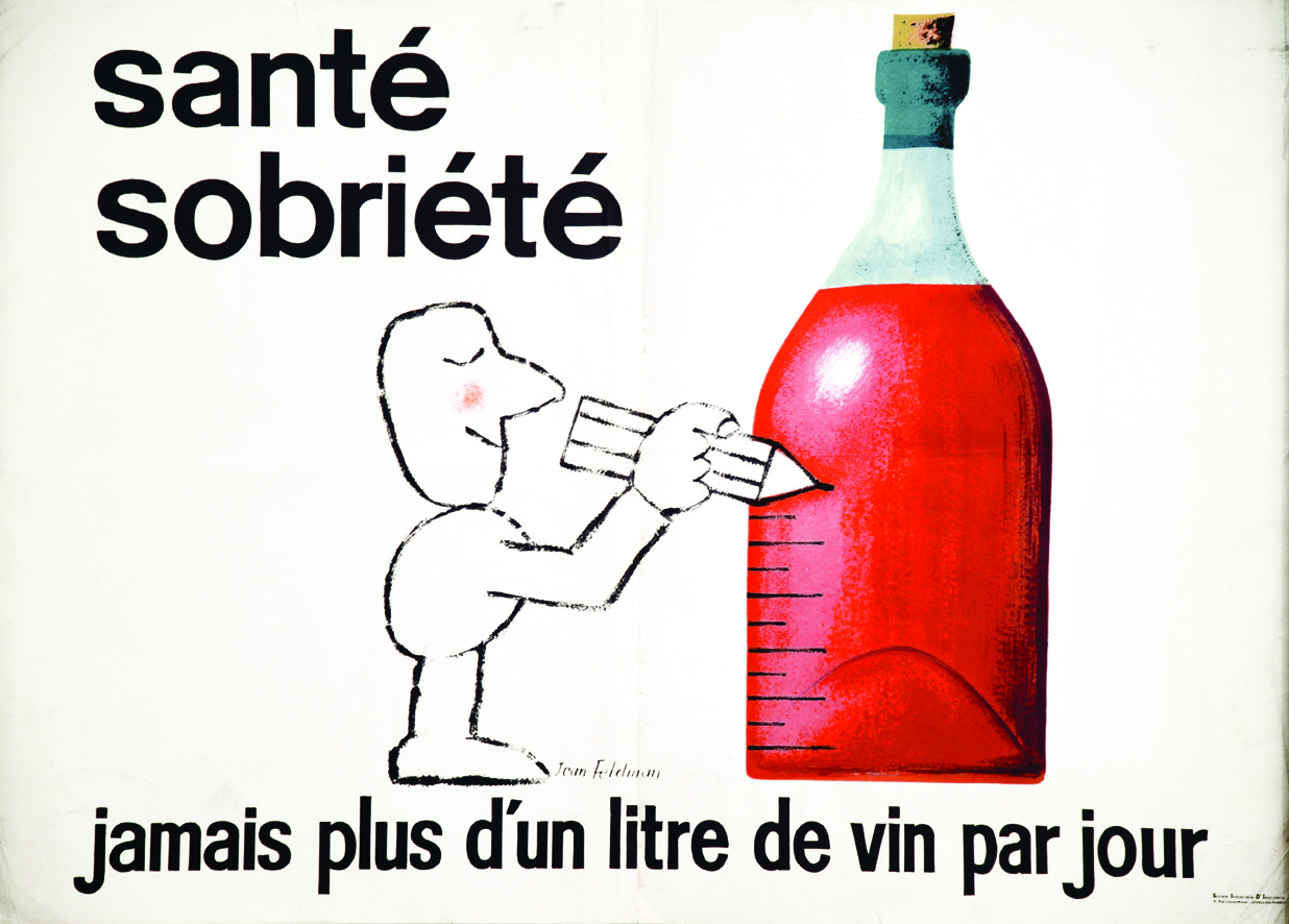 No More Than a Litre of Wine a Day