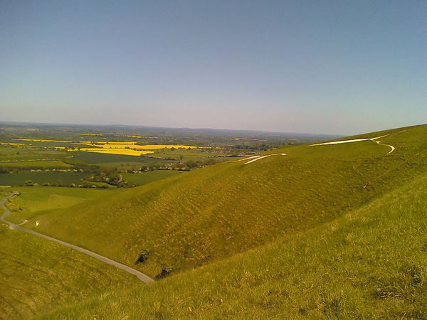 Picnic on White Horse Hill